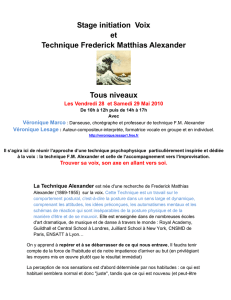 Lien vers document: Stage initiation Voix et Technique Frederick