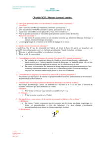 Cahier Electro Chapitre N°13