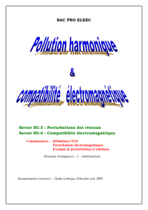 Pollution harmonique document élève