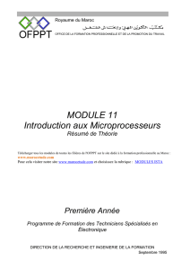 Introduction aux micro