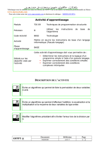Titre du document