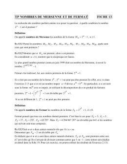 chapitre maths terminale s
