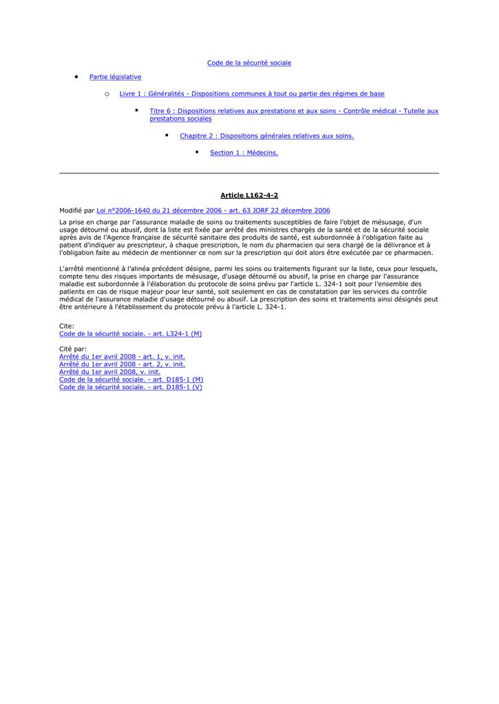 Article 324-1 du code de sécurité sociale