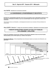 Bac S - Sujet de SVT - Session 2011