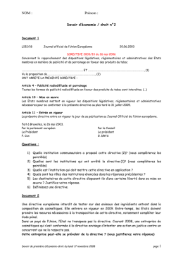 Document 2 - LYCEE MARC BLOCH Val-de