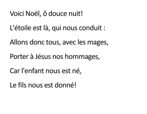 Voici Noël - New Life Church