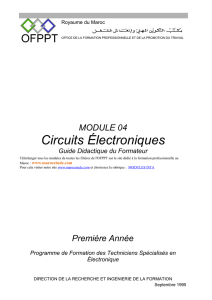 4. Description des modules