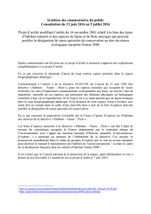 SYNTHESE_commentaires - Consultations publiques