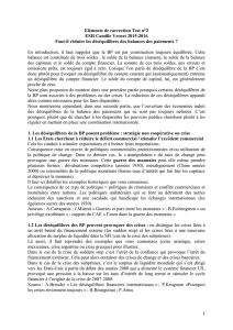 Eléments de correction Test n°2