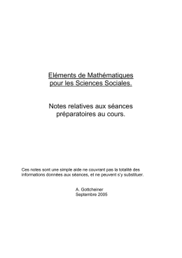 notes de cours préguidance