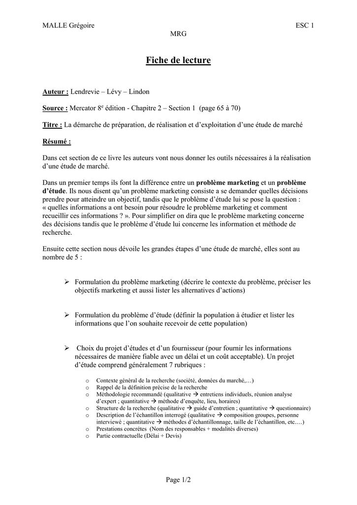 étude Qualitative Exemple De Guide D Entretien - Exemple ...