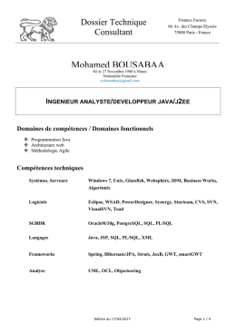 doc - Mohamed BOUSABAA web site