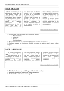 DOC 1- LE BESOIN