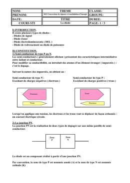 La diode document professeur