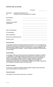 Rapport final du Notaire- Computershare