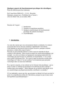 ethylisme et cavite buccale - Service Central d`Authentification