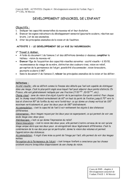 A partir du document 5