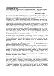 Intervention de G. Wuidart concernant le point 4 de l`OJ de la