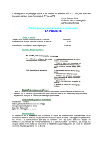 CH 11 : l`action par la communication commerciale