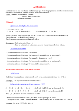 Equations et inéquations
