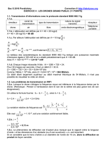 Bac S 2016 Pondichéry Correction © http://labolycee.org EXERCICE