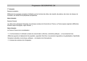 Progression histoire CM2 - Inspection de l`Education Nationale d