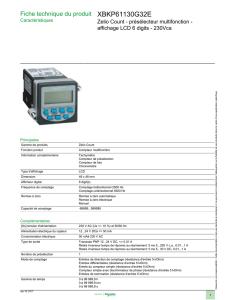 compteur de r/étro/éclairage /électronique 50Hz KWh 5-80A Compteur d/énergie /électrique sur rail DIN daffichage LCD num/érique AC230V