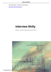 Interview Shilly - Filipe Ferreira