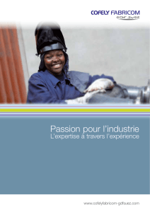 Brochure Industrie