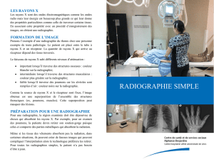 RADIOGRAPHIE SIMPLE