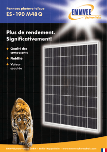 Plus de rendement. Significativement! ES - 190 M48 Q