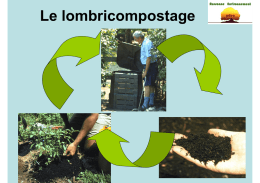 Le lombricompostage