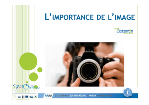 L`importance de l`Image - Office de Tourisme Cherbourg