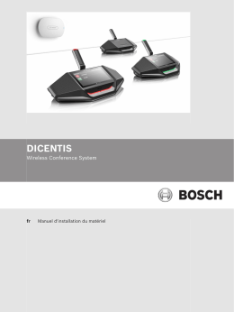 dicentis - Bosch Security Systems
