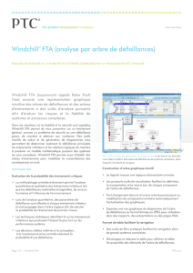 Windchill FTA (formerly Relex Fault Tree Analysis) Data Sheet