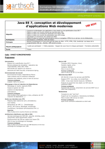Java EE 7, conception et développement d`applications Web