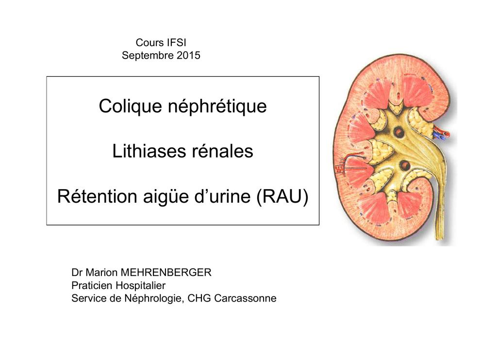 infection urinaire - Centre Hospitalier de Carcassonne