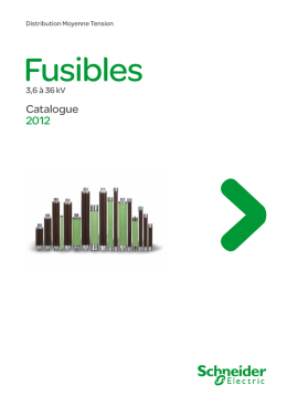 Catalogue 2012 - Schneider Electric Belgique