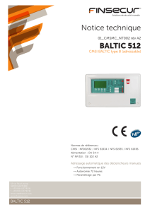 Notice technique BALTIC 512