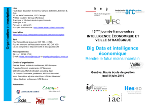 Big Data et intelligence économique