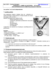 Bac S 2011 - Centres étrangers http://labolycee.org EXERCICE II