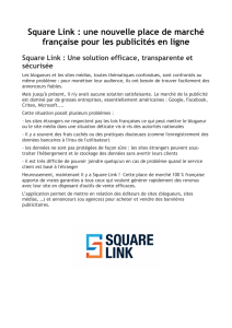 Square Link - Relations
