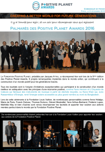 En savoir + - Positive Planet Foundation