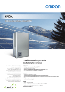 KP100L - cbsolar Engineering