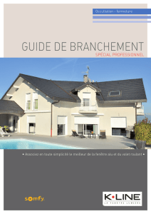 GUiDe De BrancHeMenT - K-Line