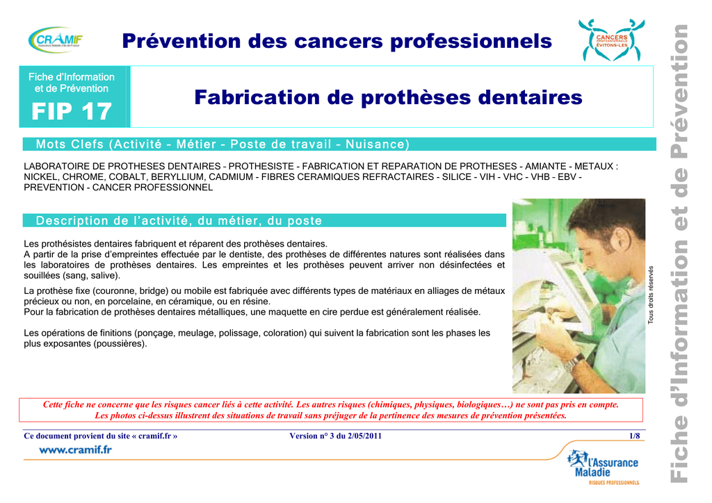 Fabrication De Prothses Dentaires