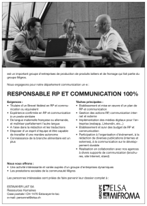 responsable rp et communication 100%