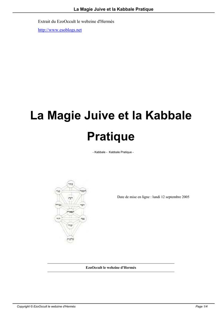Kabbale datant