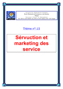 la servuction