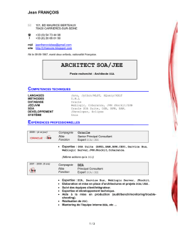 architect soa/jee
